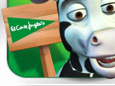 """El Corte Inglés – Juego """"Llegan las vacas"""""""